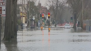 Flooding in the Thames Valley