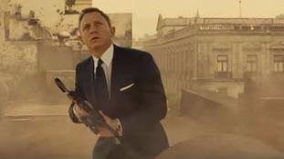 Daniel Craig as James Bond in a scene from Spectre