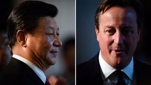 President Xi and David Cameron