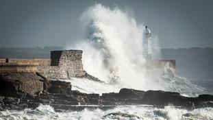 Waves at Porthcawl