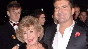 Cowell with his mother Julie, who died this summer.