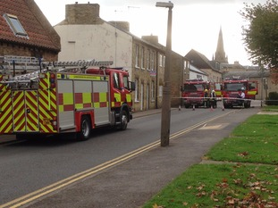 Crews are currently at the scene of a mercury spillage