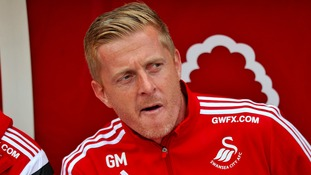 Swans Manager Garry Monk has been in a defiant mood today.