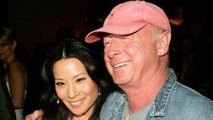 US actress Lucy Liu with director Tony Scott