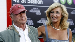 Tony Scott and his wife Donna seen at the premiere of the movie 'The Taking of Pelham 1 2 3'