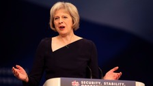 Theresa May addressed the National Black Police Association on Thursday morning