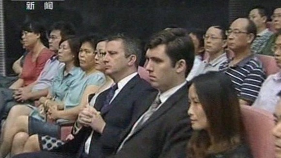 British diplomats were present in court as Gu Kailai was sentenced