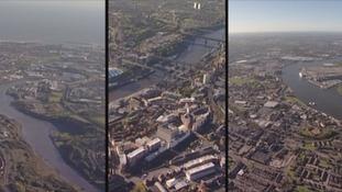 Aerials of North East