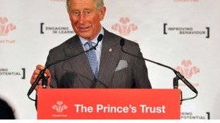 The Prince's Trust is encourgaing young people to look at self-employment