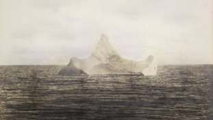 'Titanic iceberg' photograph set for auction today