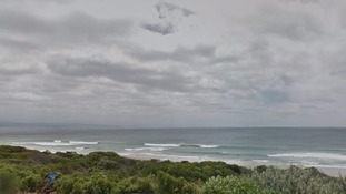 The pair were found dead on Robberg Beach, South African authorities said.