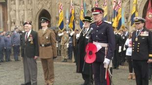 £1 million was raised through the poppy appeal in Devon last year