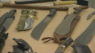 Police join forces to tackle knife crime