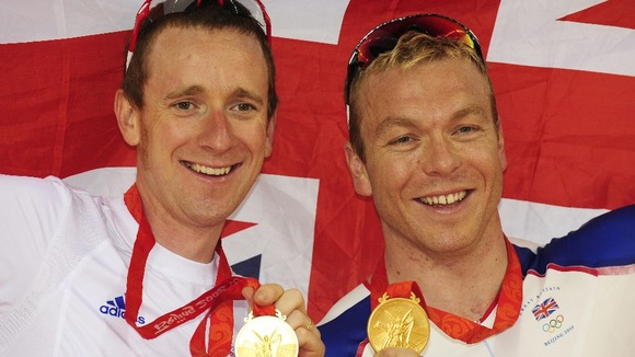 Bradley Wiggins Sir Chris Hoy X Factor