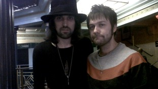 Tom and Serge from Kasabian