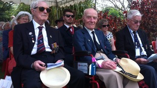 Former Prisoners of War return to the Bridge on the River Kwai to remember their comrades 70 years on