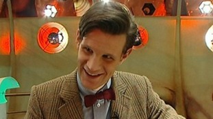 Matt Smith who plays the Doctor