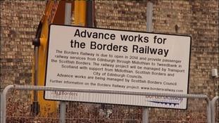 Railway works are underway