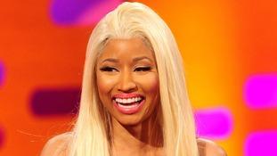 Trinidadian-born American singer Nicki Minaj.