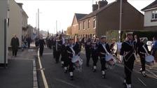 Biggleswade Remembrance Sunday Parade