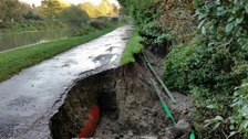 Hundreds of thousands of pounds worth of damage caused on Kennet and Avon Canal