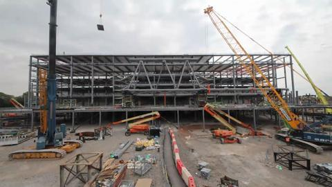 Anfield Stadium (Main Stand) Timelapse story so far