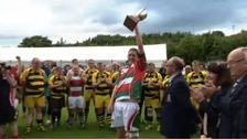 Ireland's Sunday Wells Rebels won the first tournament