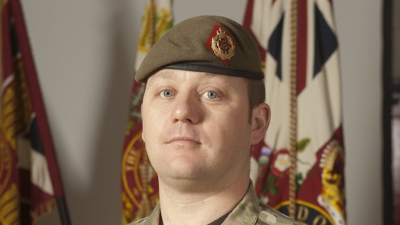 Sergeant Nigel Coupe, 33, of 1st Battalion The Duke of Lancaster's Regiment