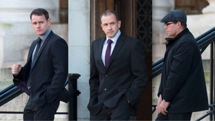 Police officers 'stole £30,000 after raid', court told