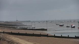 Southend beach.