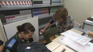 Paramedics recruited from Eastern Europe begin training