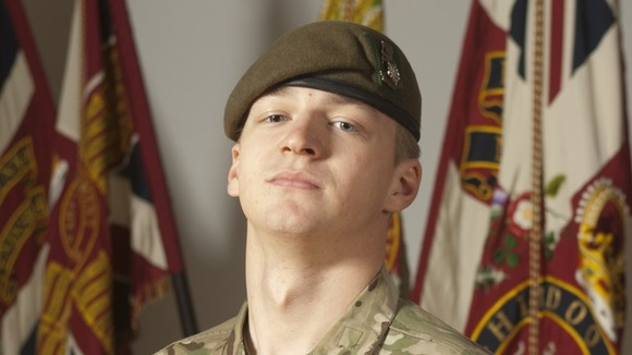 Private Daniel Wade, 20, of 3rd Battalion The Yorkshire Regiment
