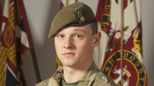 Private Daniel Wilford, 21, of 3rd Battalion The Yorkshire Regiment