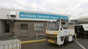 The £5 tax on passengers flying from Newquay Airport will be scrapped from the end of March next year