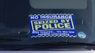 If a driver is uninsured, police can seize the car