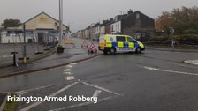 Man charged after armed robbery in Cumbria