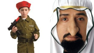 'Israeli soldier outfit for kids' and 'Sheikh Fagin nose' costumes pulled by Walmart - but are still being sold in UK