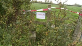 Anthrax detected at Wiltshire farm