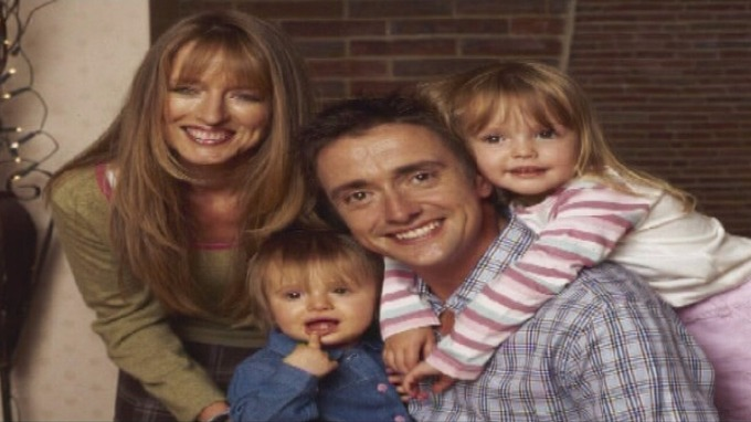 Family photo of the tv-personality, married to Mindy Etheridge, famous for Richard Hammond