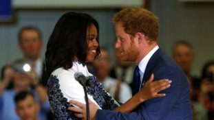 Prince Harry meets the Obamas and tells how the army changed his life