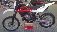Husqvarna stolen bike
