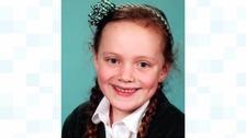 Seven year old Esmee Polmear died at school in Perranporth