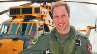 Prince William delivers a royal rescue to injured walker