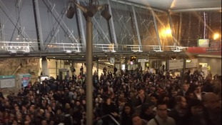 The incident resulted in major delays at Stratford Station on Tuesday