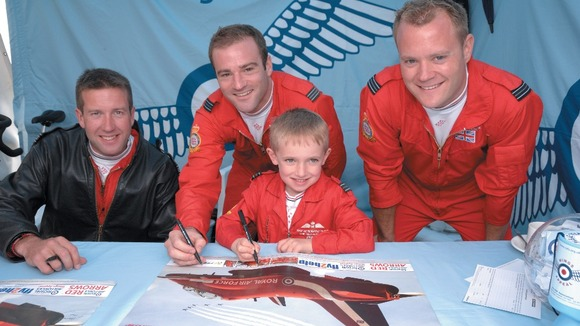 Pilot Jon Egging, Red Arrows