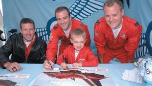Pilot Jon Egging, Red Arrows
