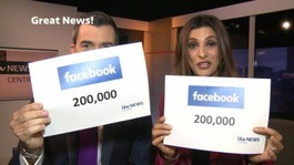 200,000 Facebook likes: Your favourite stories