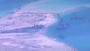China has tried to claim waters around the Spratly islands.