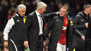 Pardew and Rooney
