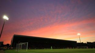 Sixfields Stadium in Northampton